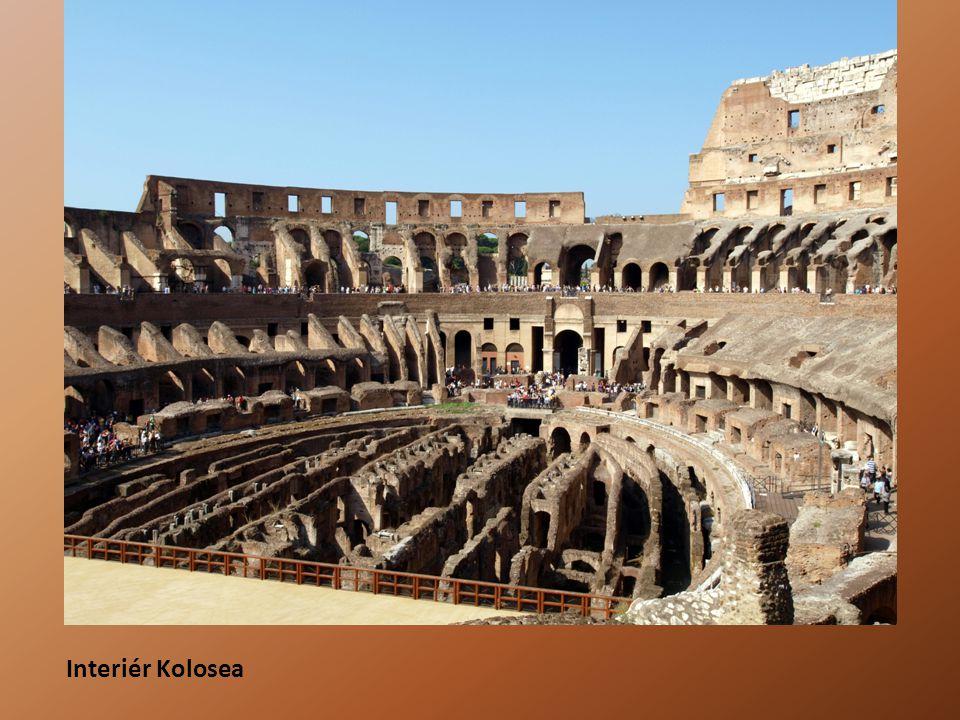Interiér Kolosea