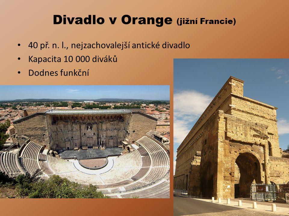 Divadlo v Orange (jižní Francie) 40 př.n.