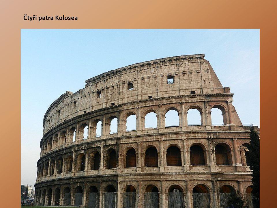 Čtyři patra Kolosea