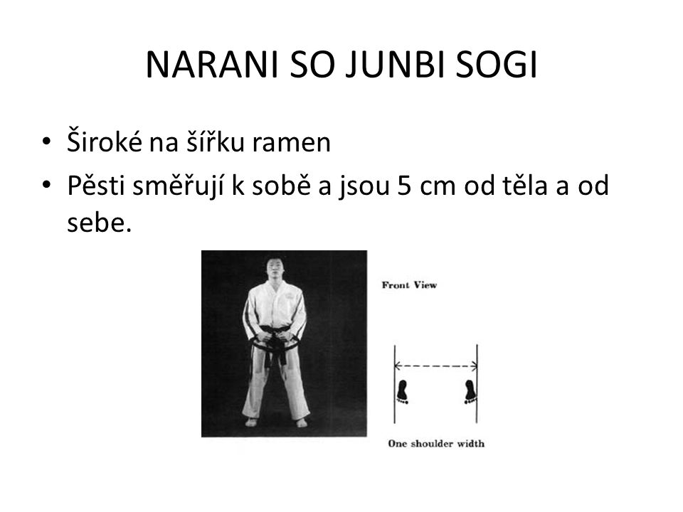 GUNNUN SOGI Dlouhý na 1,5 šířky ramen široký na 1 šířku ramen Váha 50% na 50% Zadní noha úplně propnutá, přední mírně pokrčená