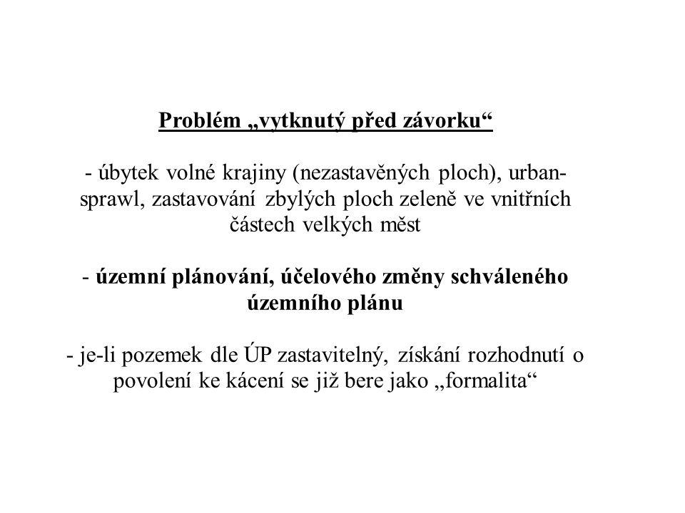 Kompetenční problém – obecní úřady obcí I.