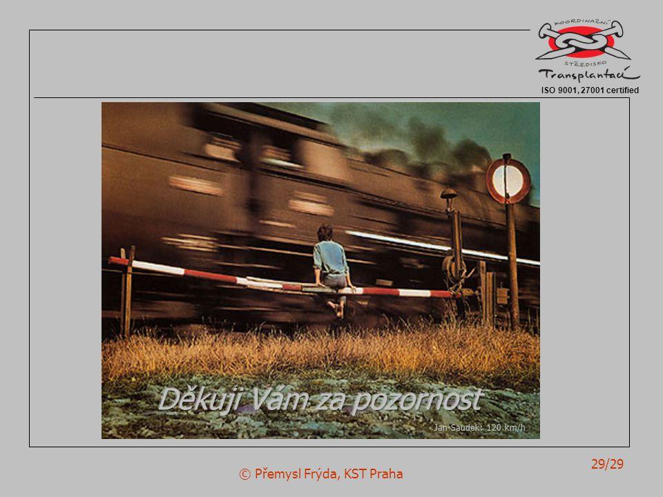 © Přemysl Frýda, KST Praha 29/29 ISO 9001, 27001 certified