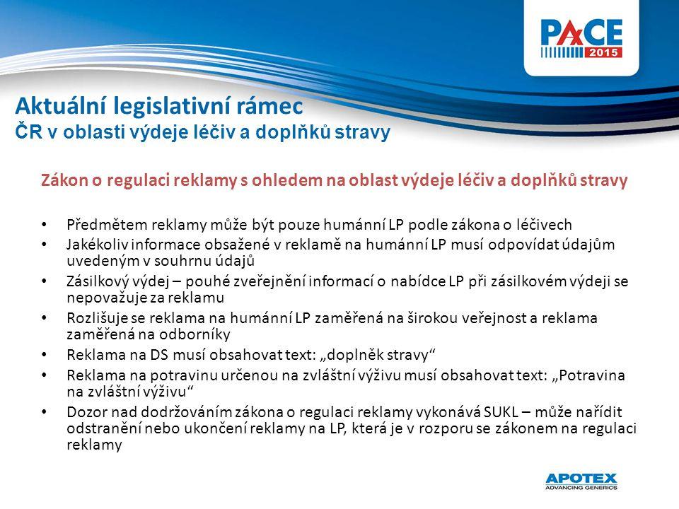 Zákon o regulaci reklamy s ohledem na oblast výdeje léčiv a doplňků stravy Předmětem reklamy může být pouze humánní LP podle zákona o léčivech Jakékol
