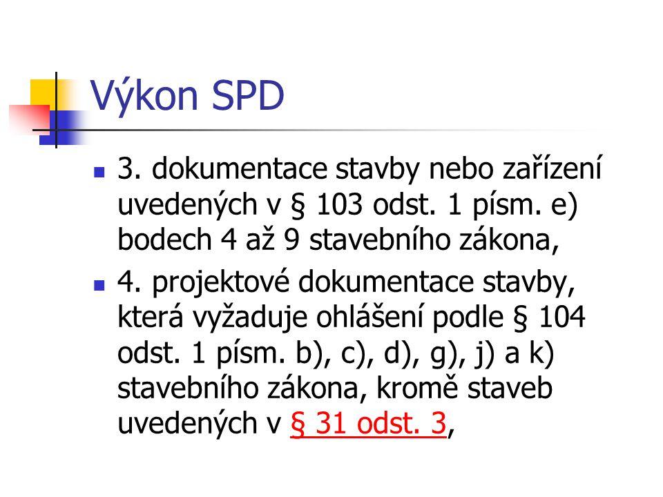 Výkon SPD 5.