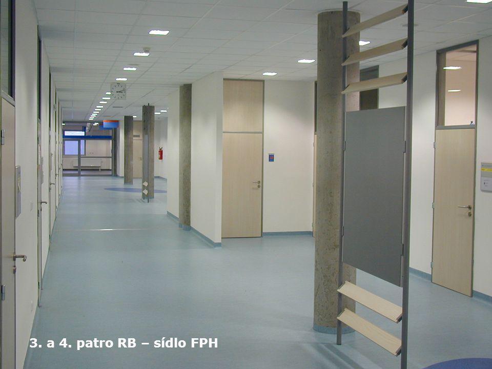3. a 4. patro RB – sídlo FPH