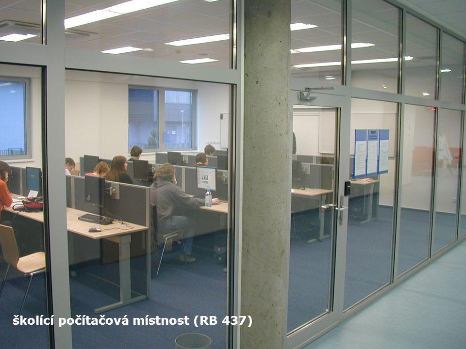 školící počítačová místnost (RB 437)