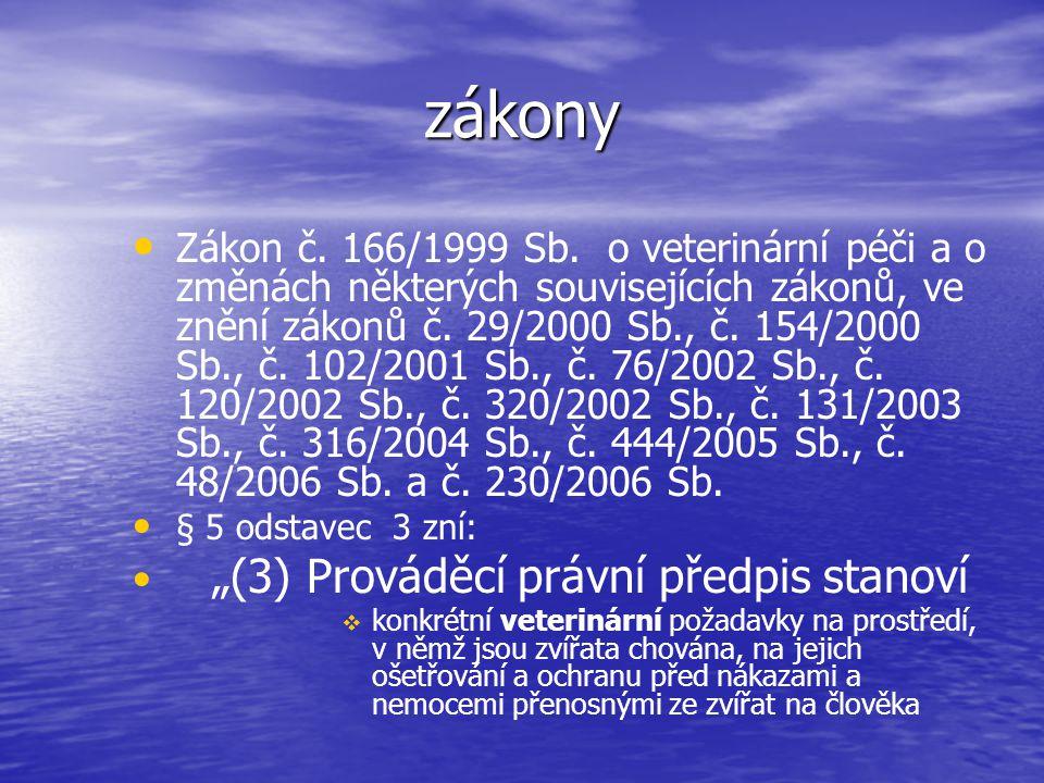 Hygiena vody a napájení Zákon č. 254/2001 Sb. - o vodách (vodní zákon) a související předpisy