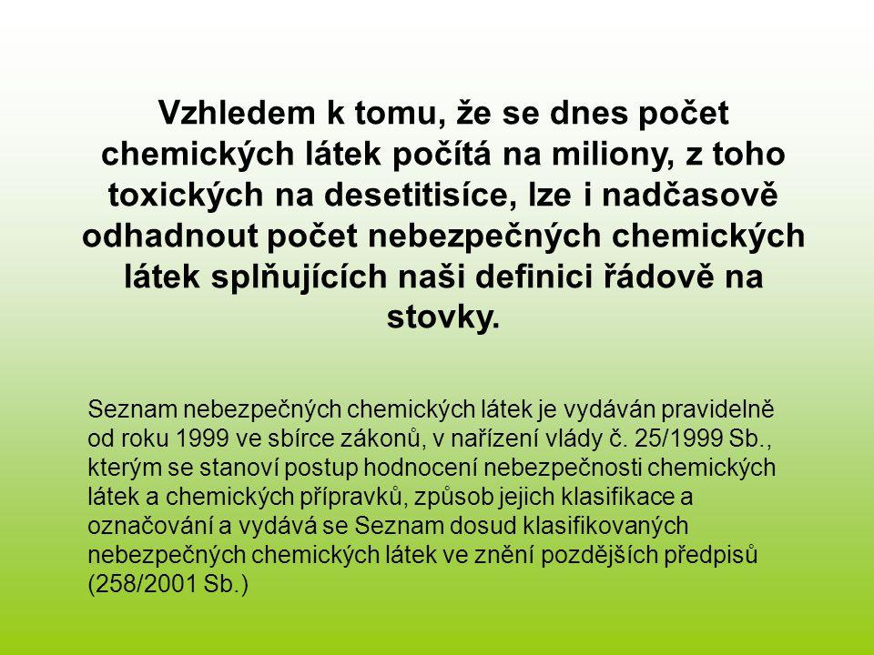Základní pojmy z toxikologie nebezpečných chemických látek Expozice je vystavení lidského organismu účinkům nebezpečné chemické látky; jde o celý proces vniknutí látky do těla, její transport k vlastním místům účinku.
