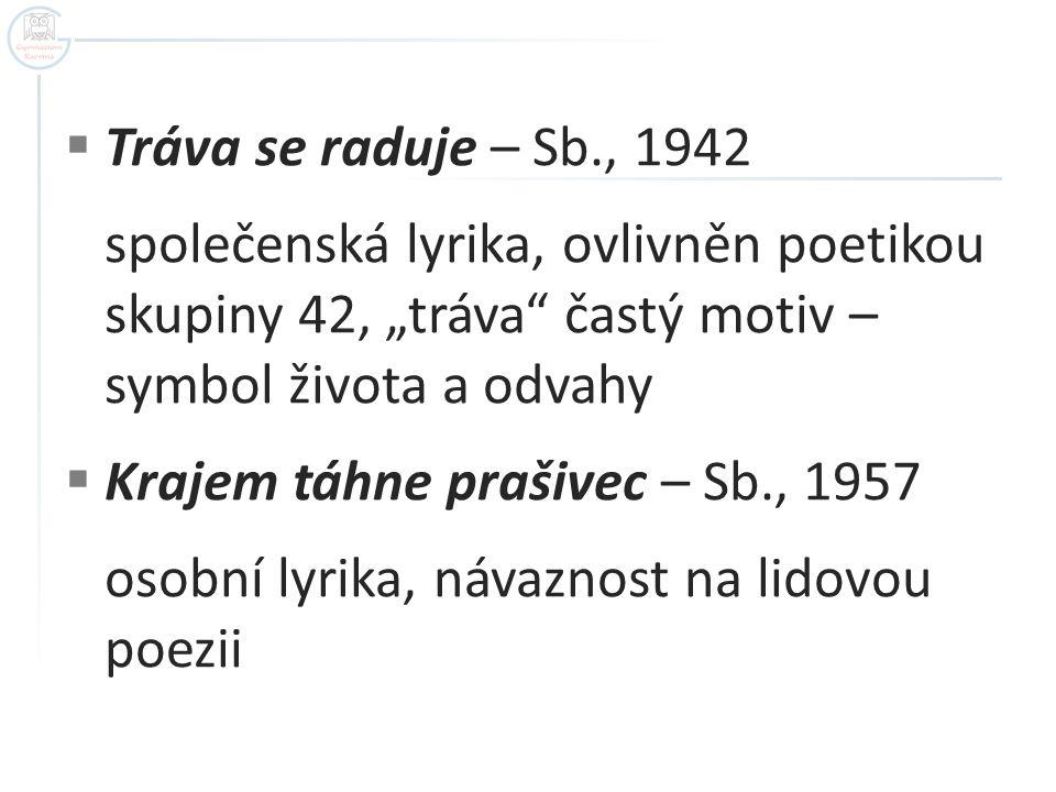  Ortely a milosti – Sb., 1958 (O.M.