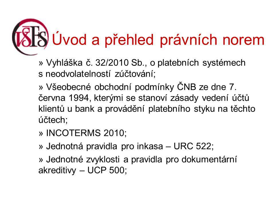 Úvod a přehled právních norem » Vyhláška č.
