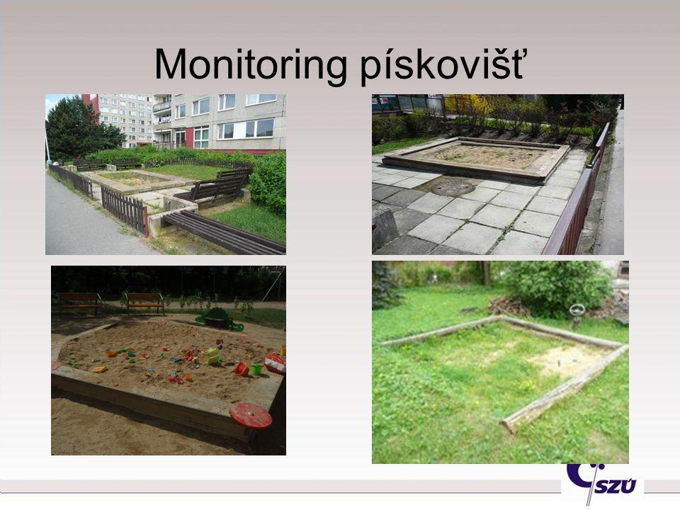 Monitoring pískovišť