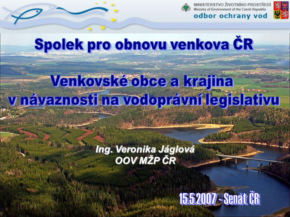 Ing. Veronika Jáglová OOV MŽP ČR