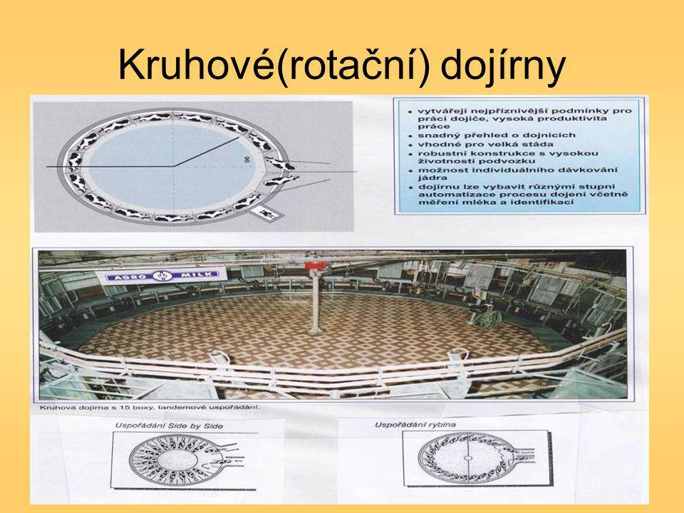 Kruhové(rotační) dojírny