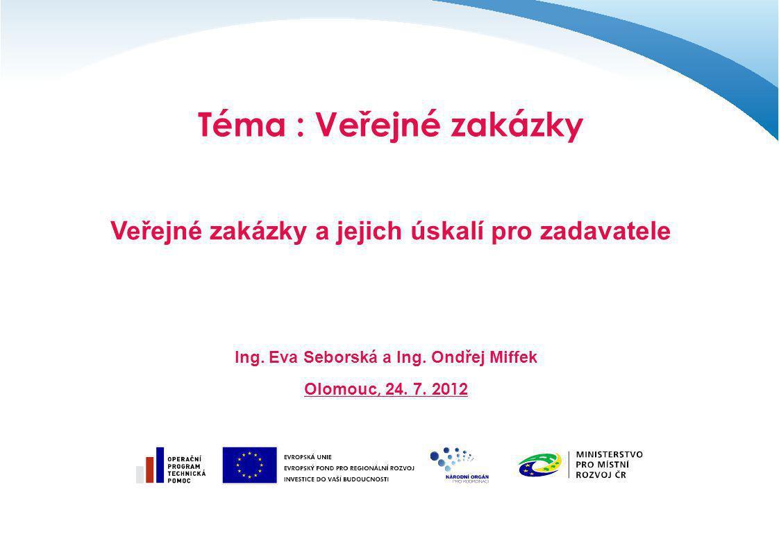 Děkuji za pozornost Ing.Eva Seborská – interní lektor Ing.