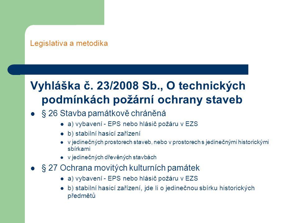Legislativa a metodika Vyhláška č.