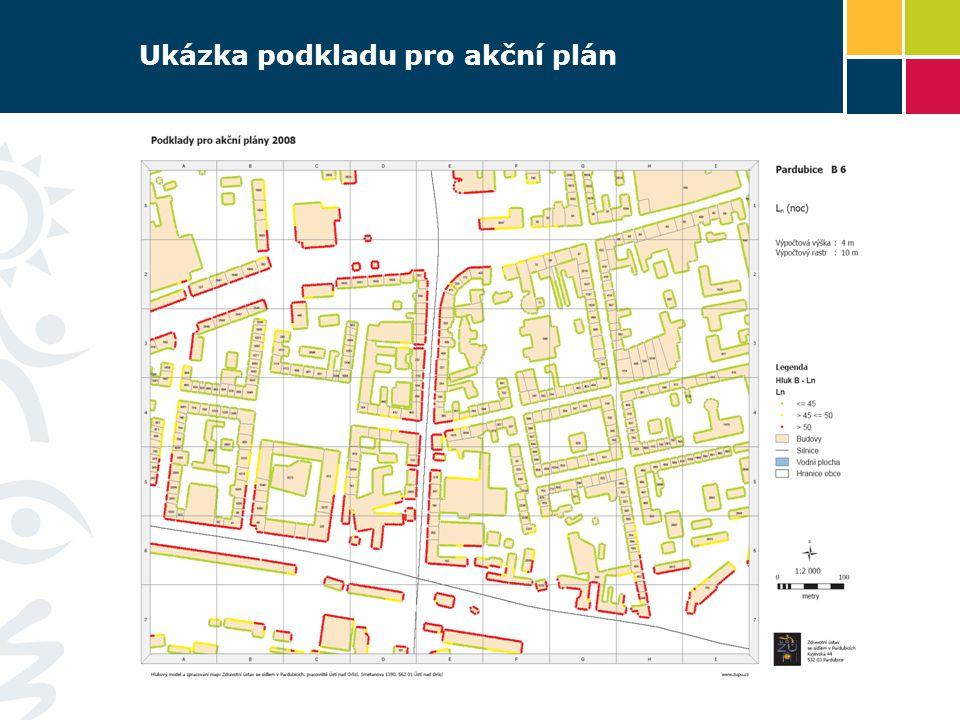 Ukázka podkladu pro akční plán 9