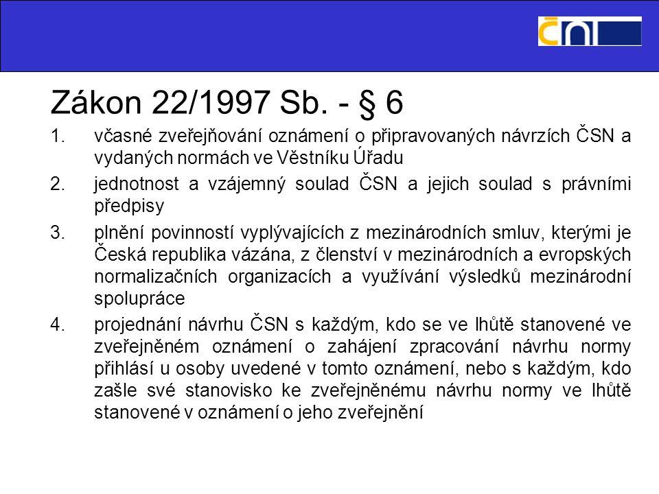 Mezinárodní spolupráce 1.CEN 2.CENELEC 3.ETSI -ISO -IEC -ITU