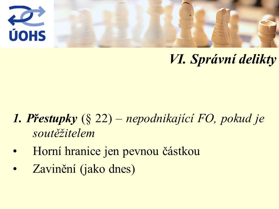 VI. Správní delikty 1.