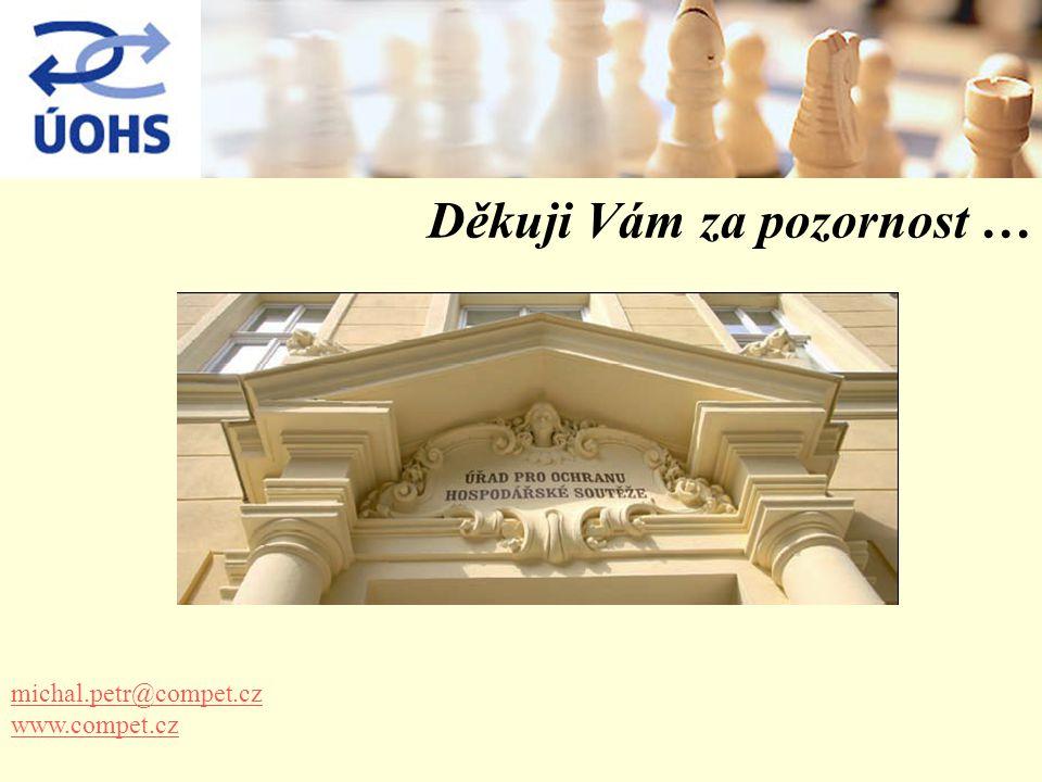 Děkuji Vám za pozornost … michal.petr@compet.cz www.compet.cz