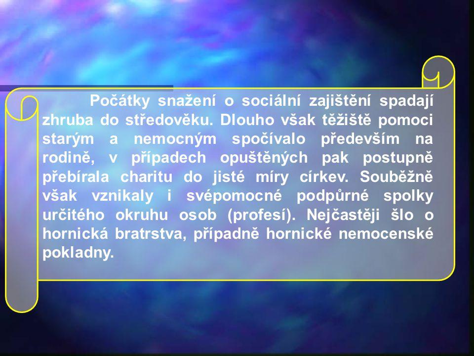 Sociální zabezpečení Josef Trnka ČSSZ v Praze