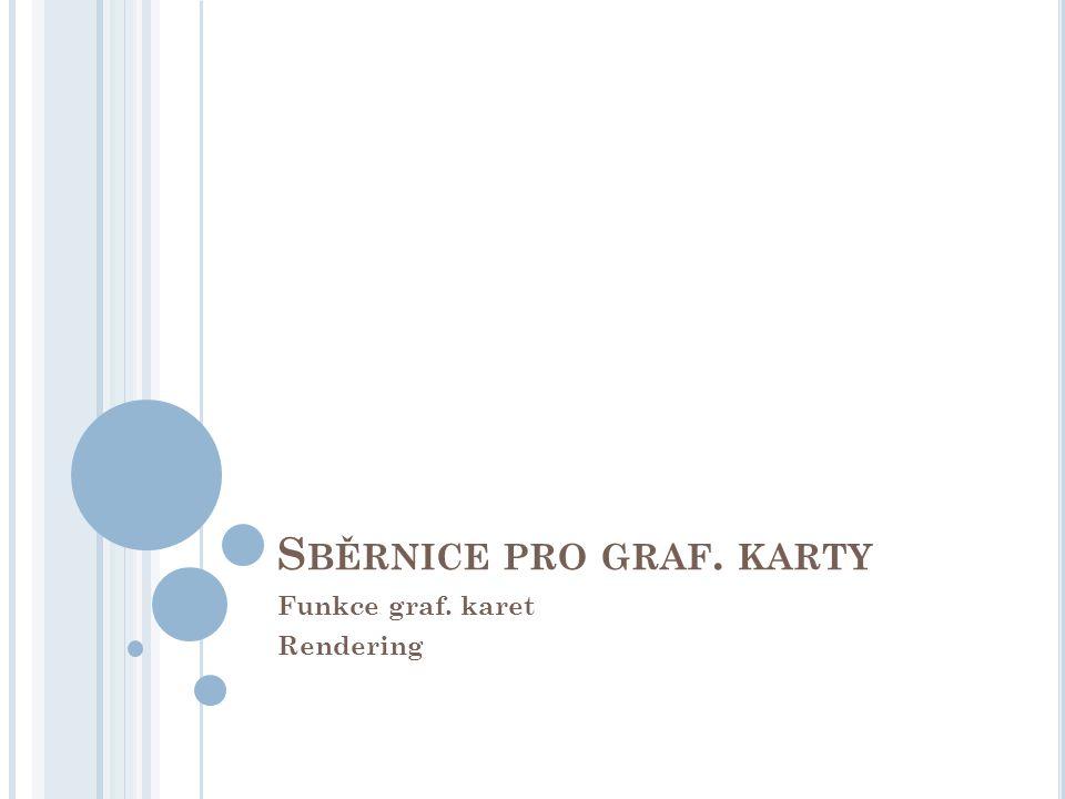 S BĚRNICE PRO GRAF. KARTY Funkce graf. karet Rendering