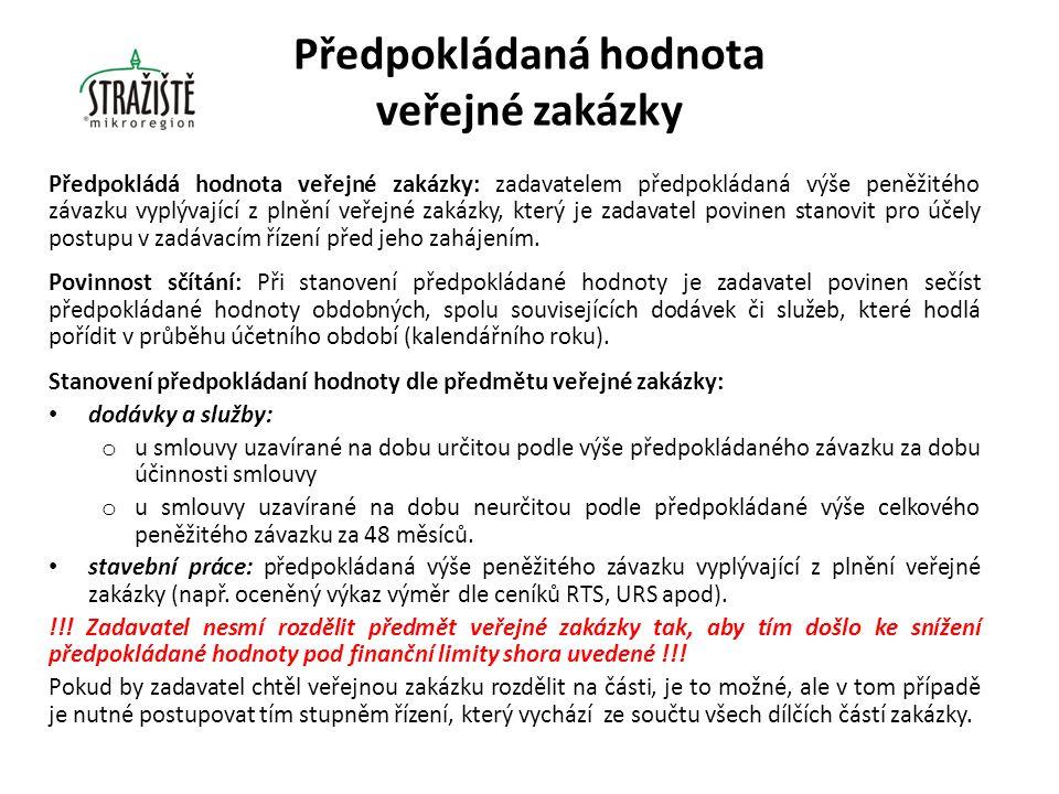 Zakázky malého rozsahu Úprava zadávání zakázek malého rozsahu v zákoně č.