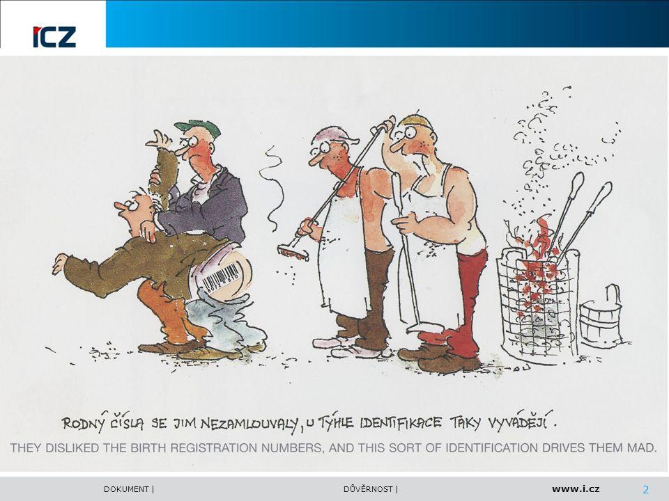 www.i.cz DOKUMENT |DŮVĚRNOST | Zapojení ICZ a.s.