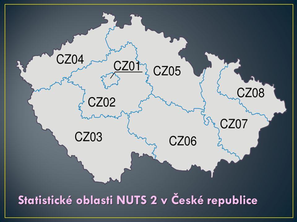 Statistické oblasti NUTS 2 v České republice
