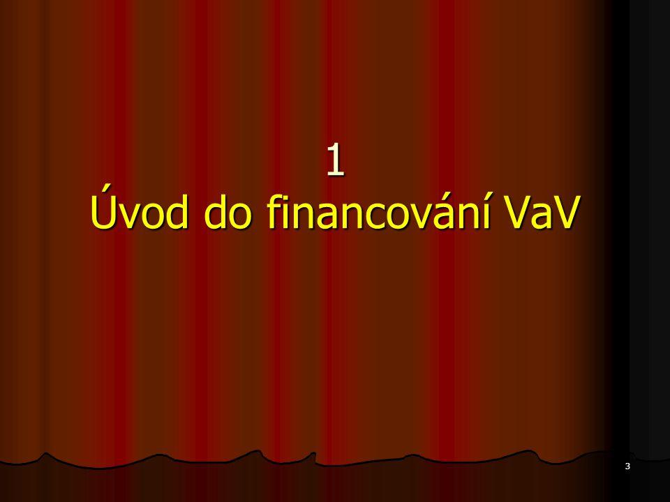 3 1 Úvod do financování VaV