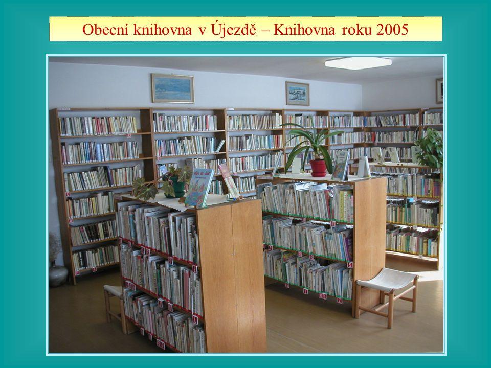 Obecní knihovna v Újezdě – Knihovna roku 2005