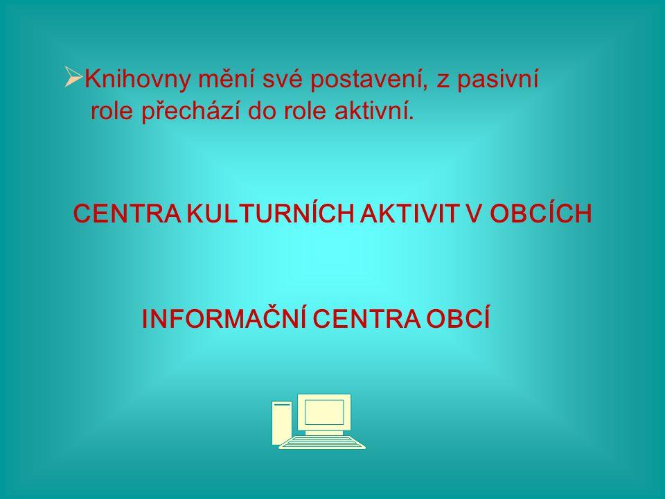 OSOBNOST KNIHOVNÍKA  Komunikativní, vstřícný. Aktivní, mít organizační schopnosti.