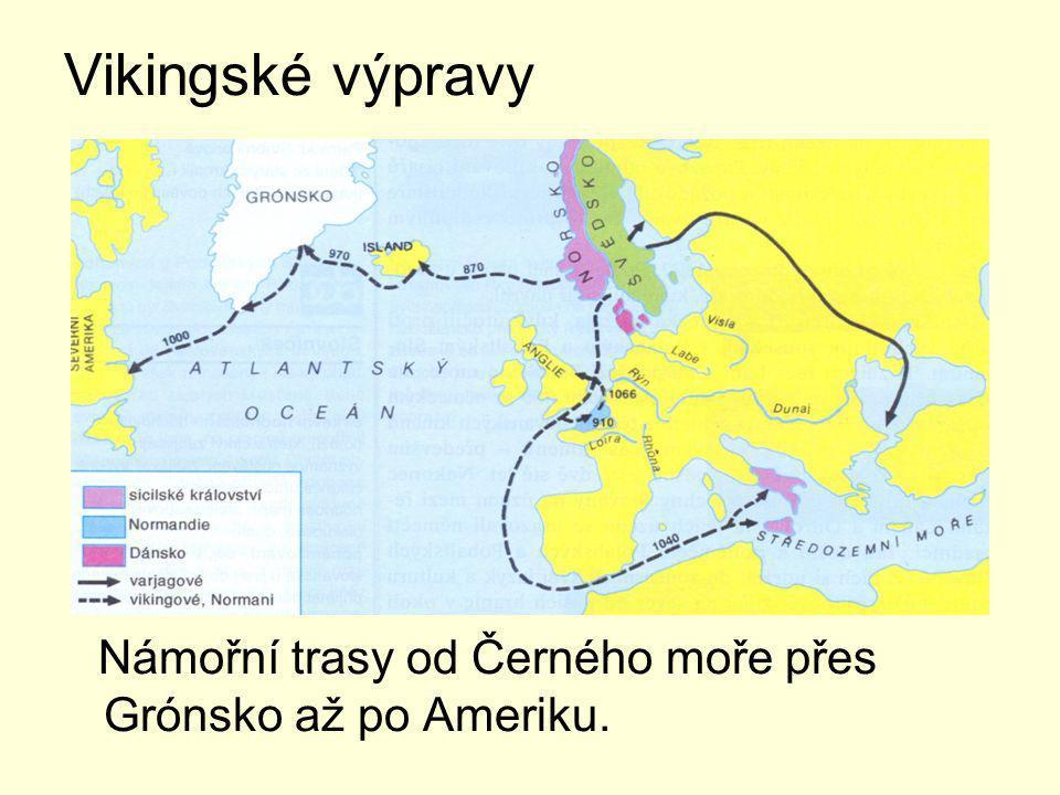 Mořeplavci Dračí lod na vikingské výpravě.