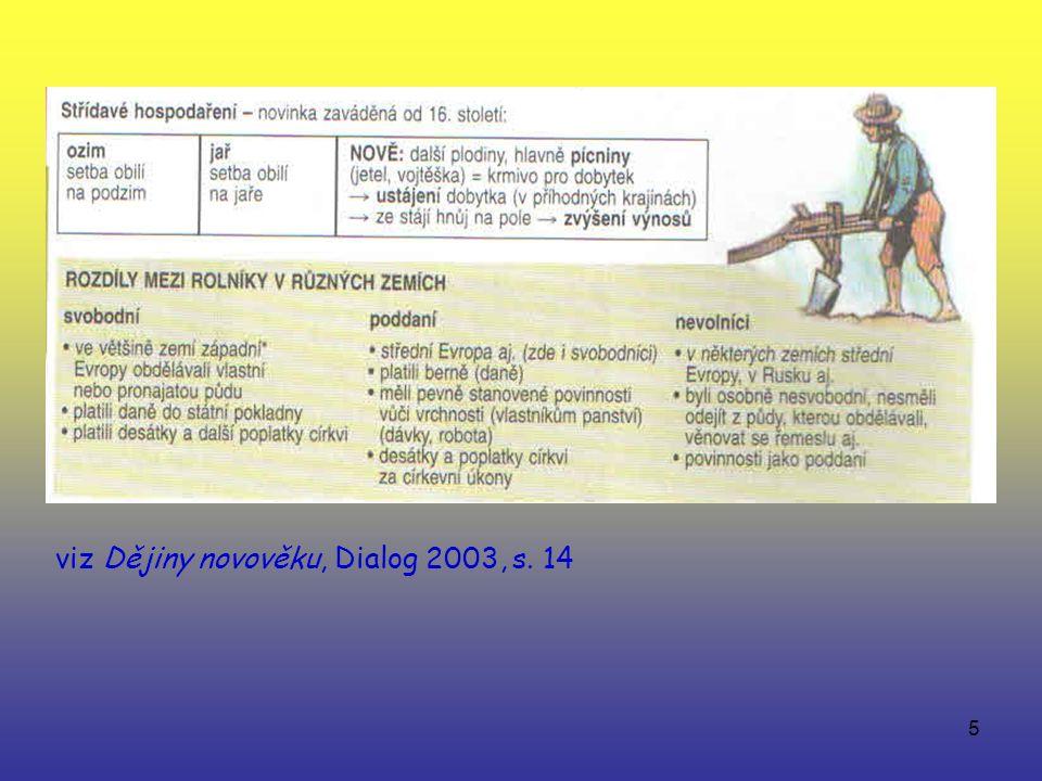 5 viz Dějiny novověku, Dialog 2003, s. 14