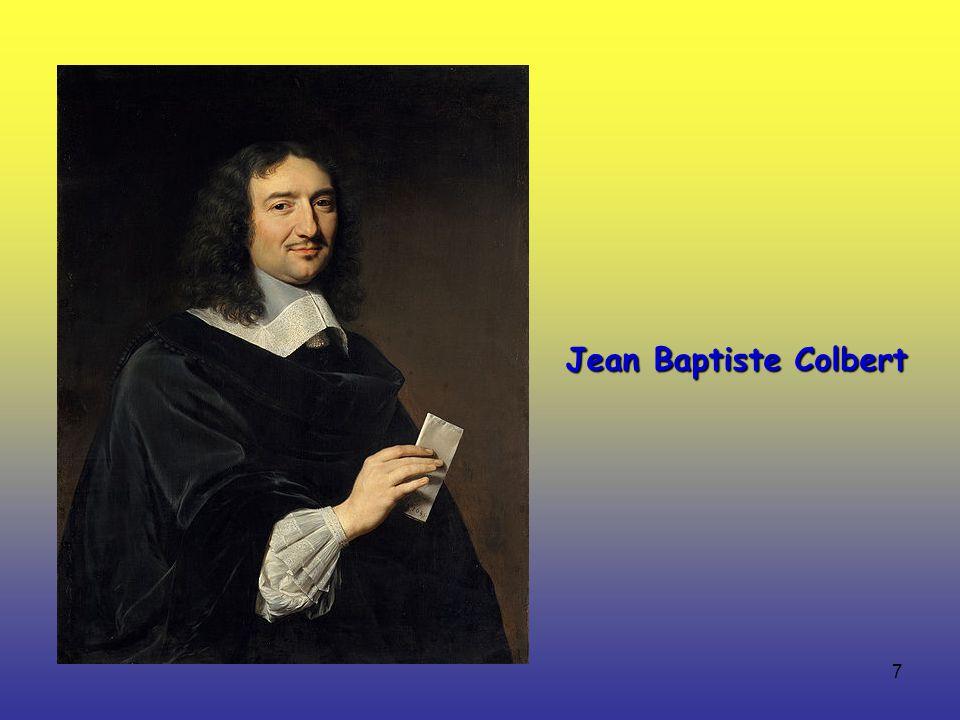 7 Jean Baptiste Colbert