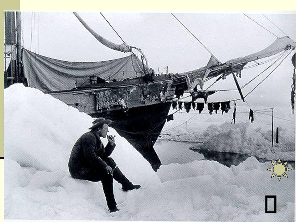 Využil poznatků o existenci mořského proudu, který žene led od Sibiře na severní pól. Stačilo tedy nechat se jím volně unášet. Potřeboval plavidlo, kt