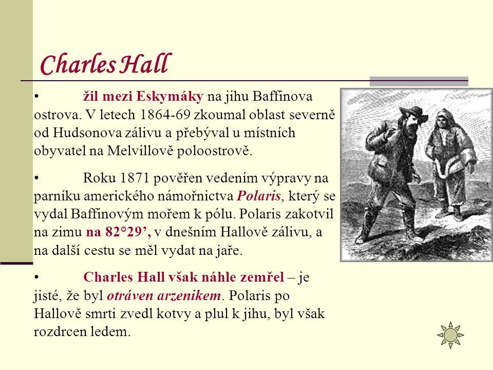 žil mezi Eskymáky na jihu Baffinova ostrova. V letech 1864-69 zkoumal oblast severně od Hudsonova zálivu a přebýval u místních obyvatel na Melvillově