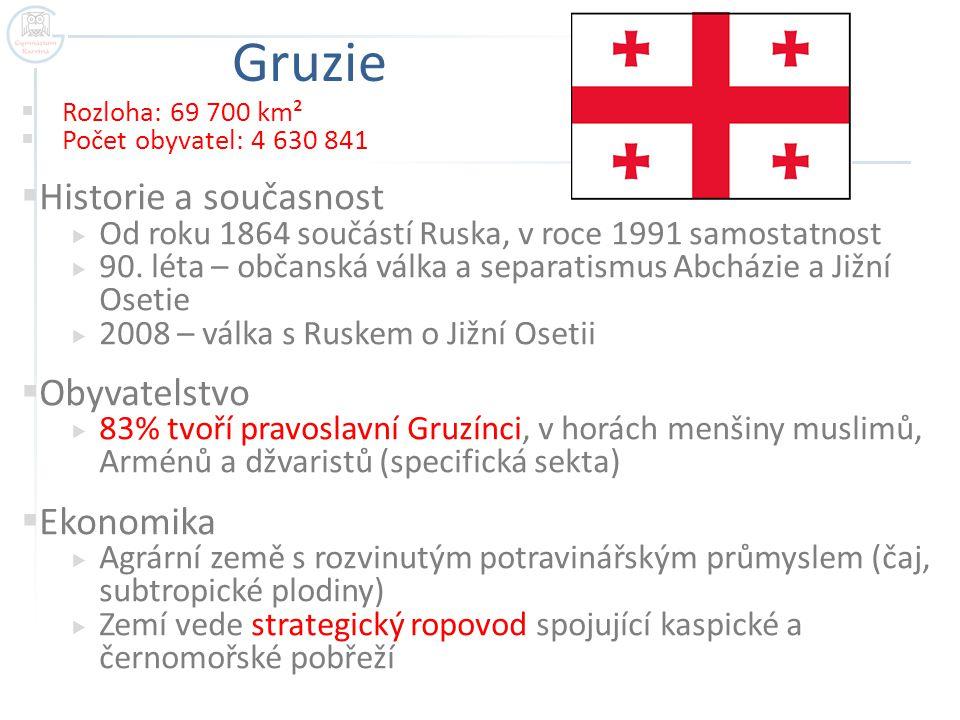 Politická mapa Zakavkazska včetně všech sporných států Autor: Dag13, Název: Zakavkazsko.png Zdroj: https://cs.m.wikipedia.org/wiki/Soubor:Zakavkazsko.png