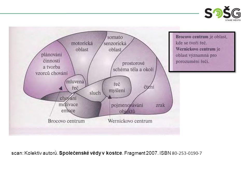 scan: Kolektiv autorů. Společenské vědy v kostce. Fragment 2007. ISBN 80-253-0190-7
