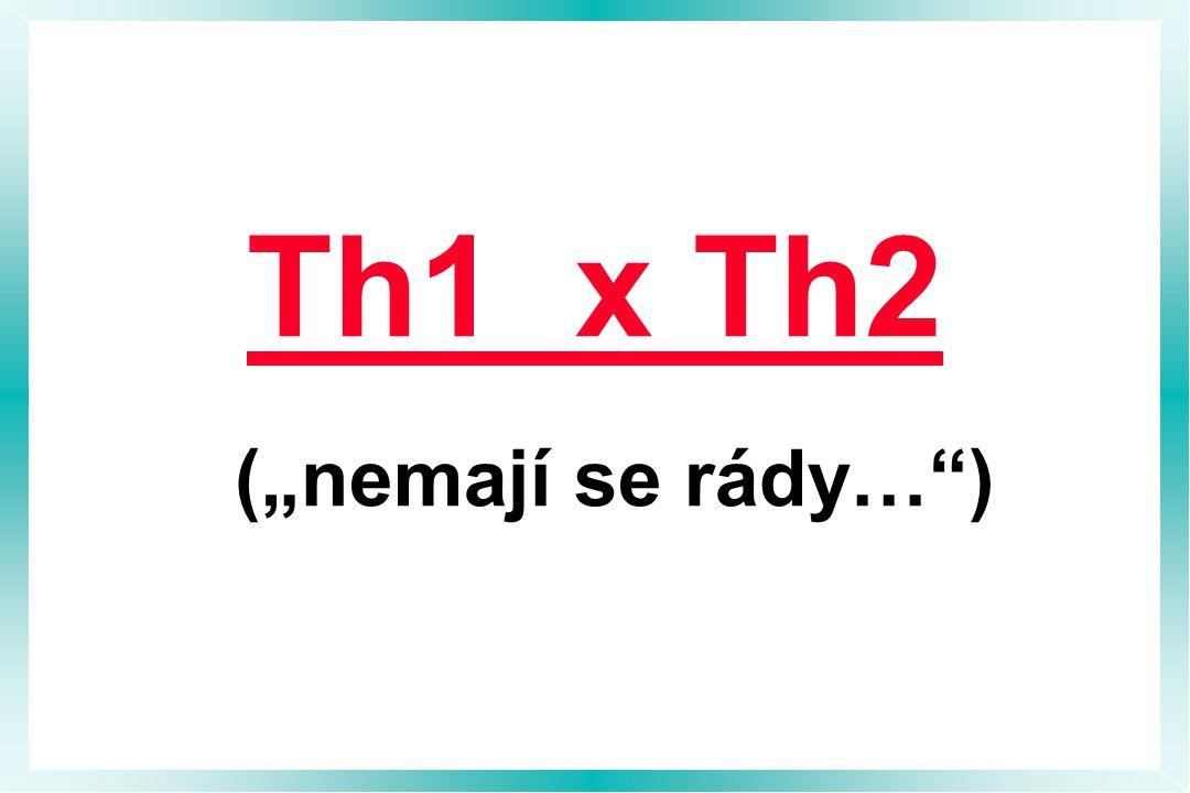 """Th1 x Th2 (""""nemají se rády… )"""