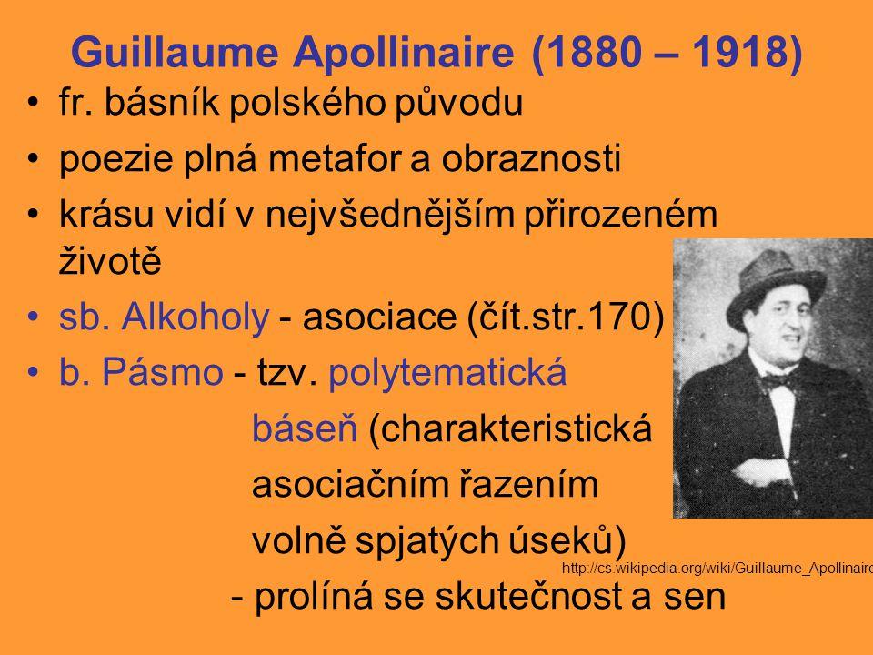 Jiří Wolker (1900 – 1924) spolupracoval s časopisem Var; předčasná smrt (onemocněl tuberkulózou) Host do domu – hravost, poezie prostých věcí, harmonie, metafory, personifikace (b.