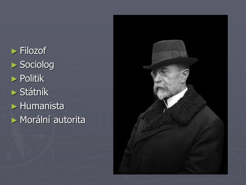 Masaryk a Čapek ► Masaryk patřil k tzv.pátečníkům.