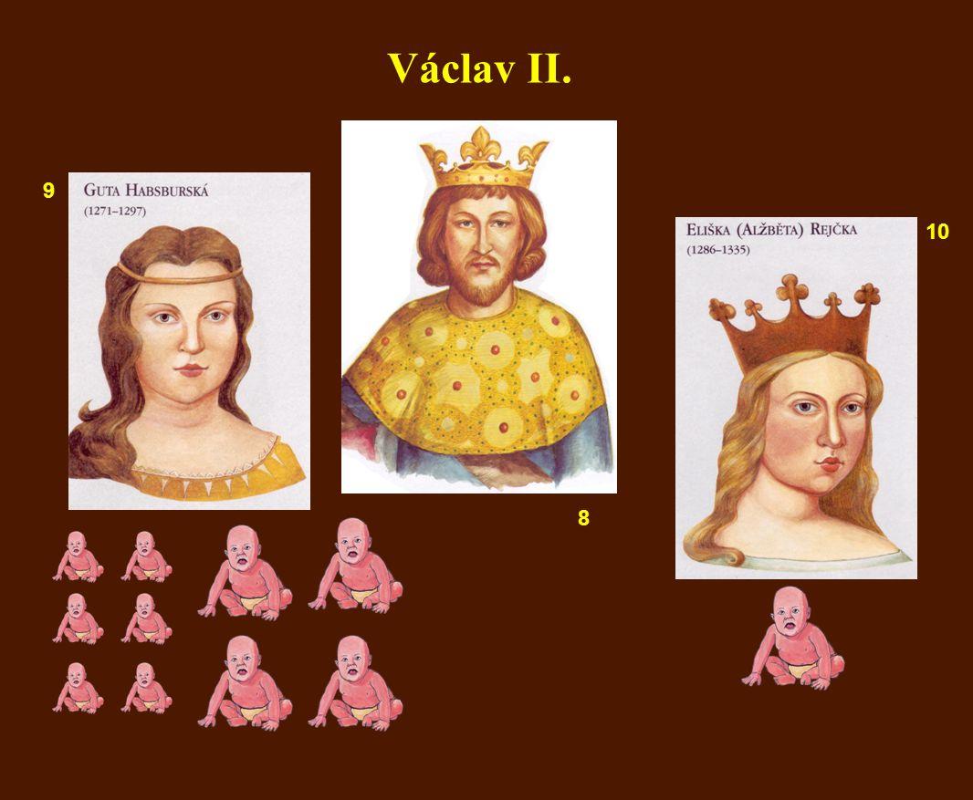 Václav II. 8 9 10