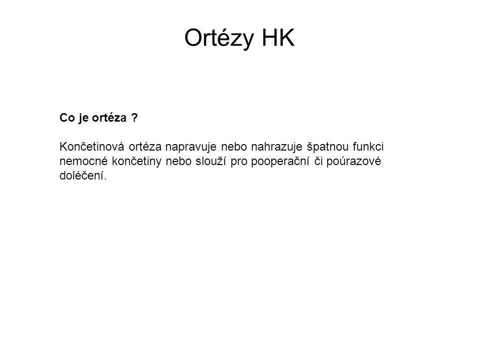 Ortézy HK Co je ortéza .
