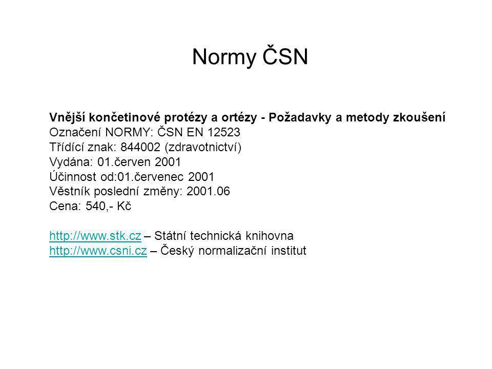 Ortézy DK Kolenní přístroj Provedení objímkové.
