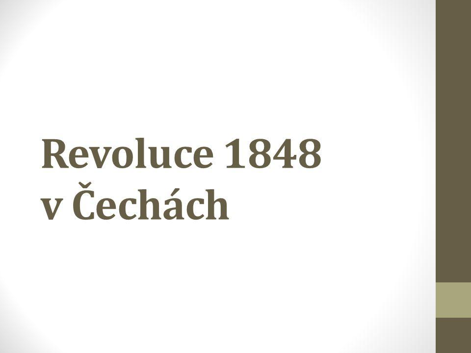 Revoluce 1848 v Čechách