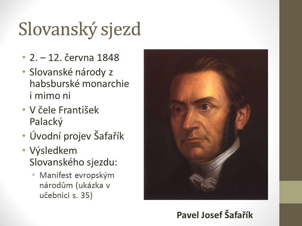 Slovanský sjezd 2. – 12.
