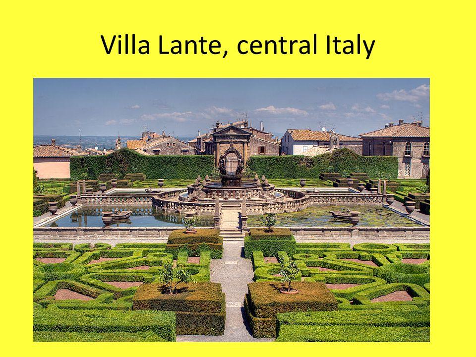Villa Lante, central Italy