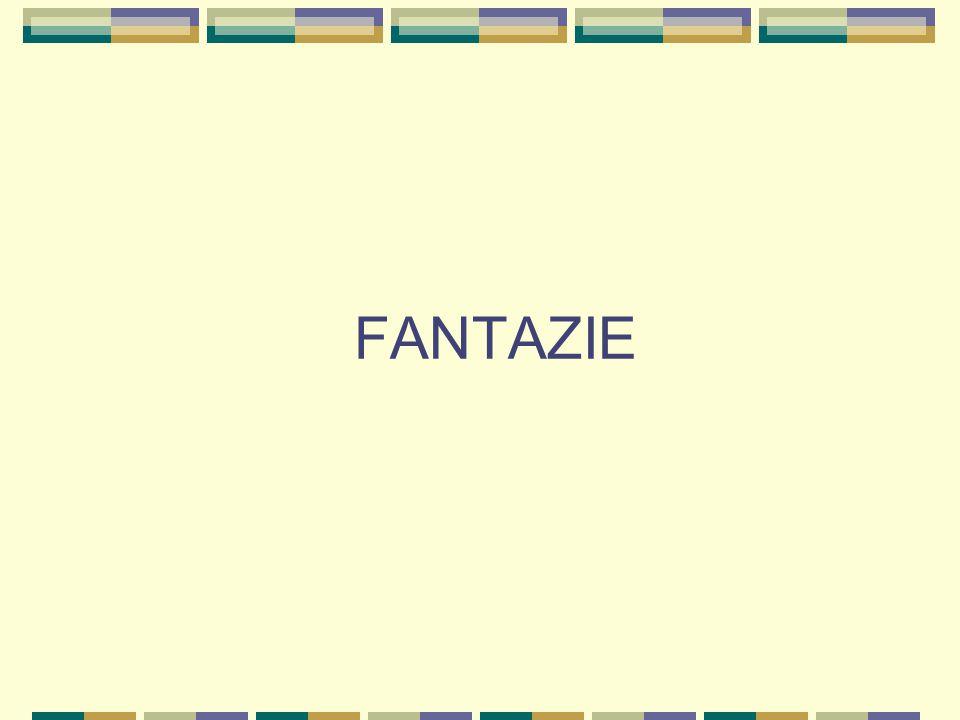 Fantazie Též obrazotvornost, představivost Jde o psychický proces, který vytváří obrazy předmětů a jevů v relativně nové podobě Základem fantazijních představ jsou naše dřívější zkušenosti, vzpomínky… I ty nejfantastičtější romány, sci-fi filmy obsahují reálné prvky