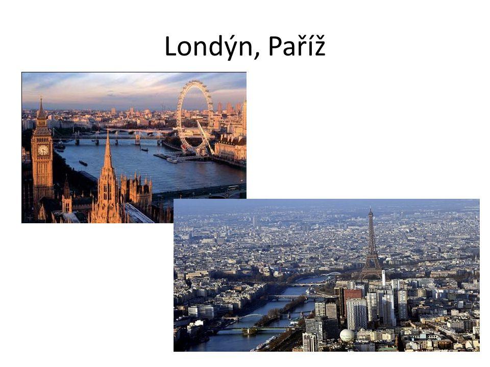 Londýn, Paříž