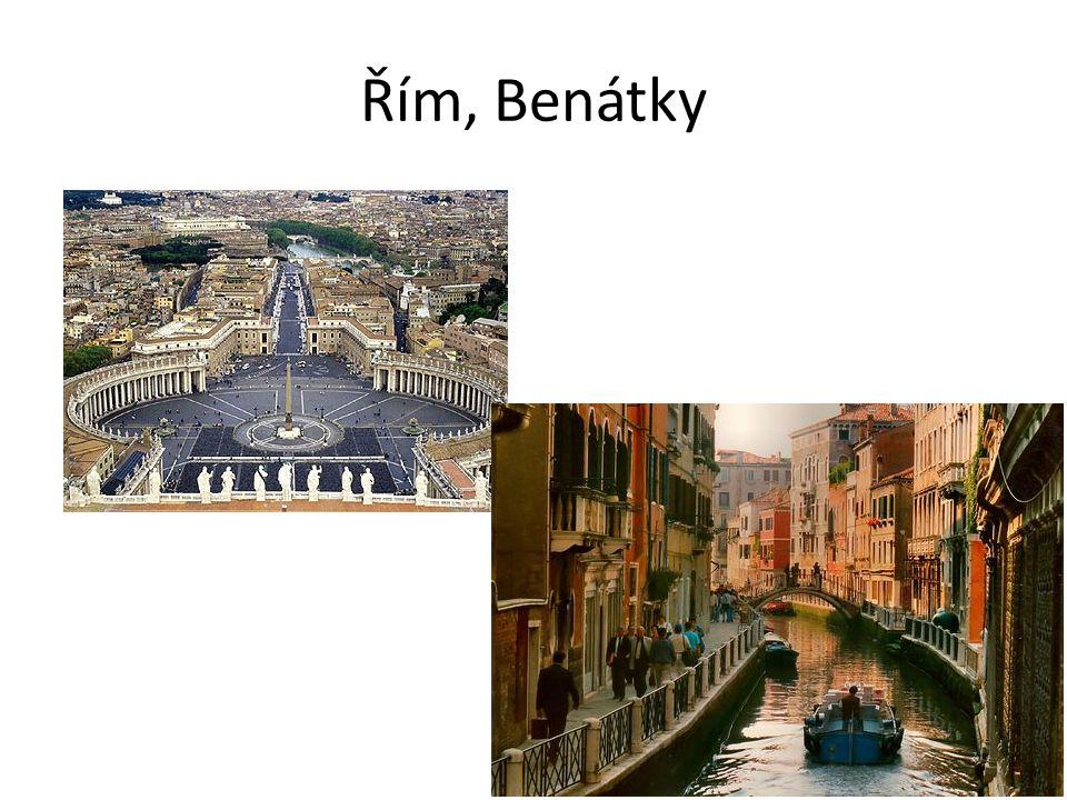 Řím, Benátky